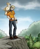Ben with a Bird