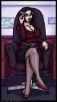 An Intimidating Executive Lady