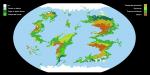 Dimentiara Climate Map