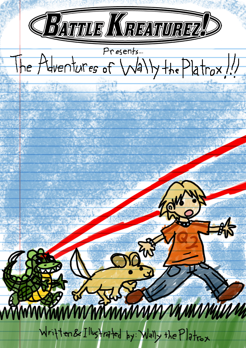 The Adventures of Wally the Platrox – Title Page