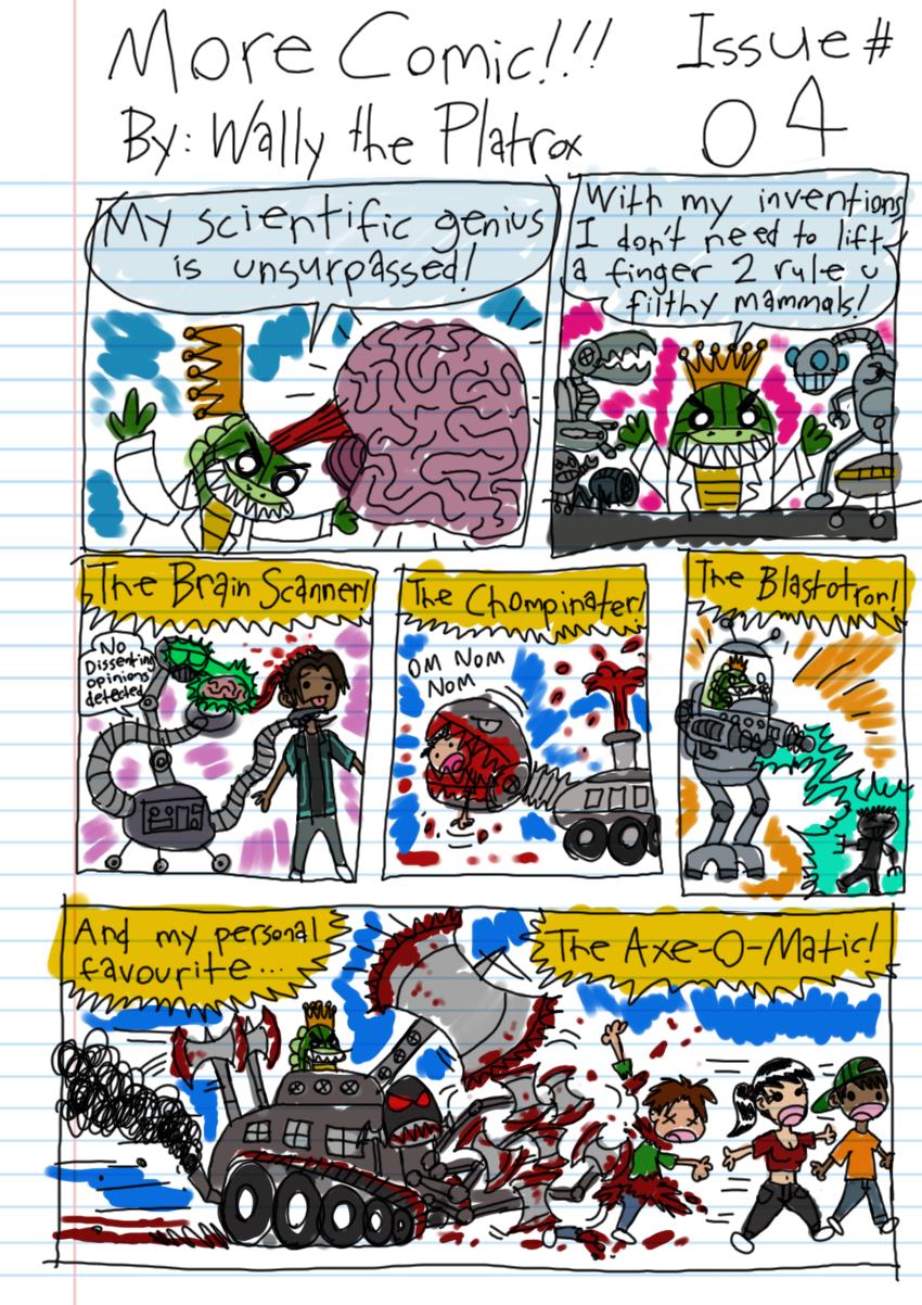 OOC: I like the Chompinator. Kinda wish I'd made it into a Cyborg Kreature.