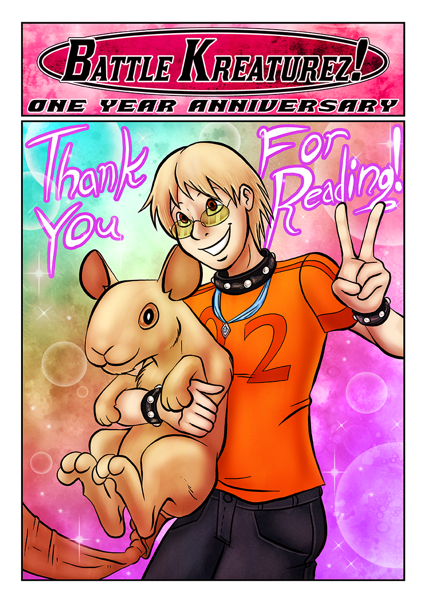 Battle Kreaturez – One Year Anniversary